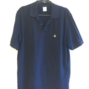 Brooks Brothers navy polo